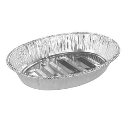 Tala Oval Aluminium Foil Roaster, Disposable & Reusable