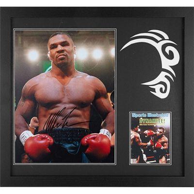 Framed Mike Tyson signed image