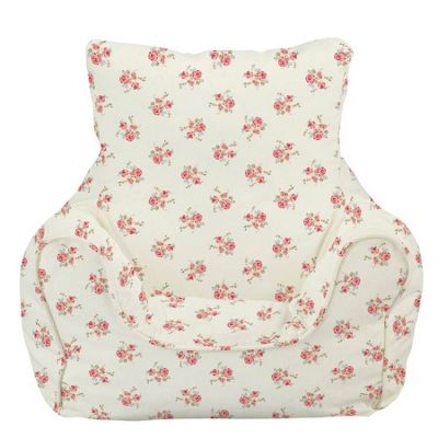 Children's Bean Bag Chair - Rose Natural