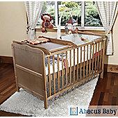 Isabella Cot Bed/Junior Bed & Deluxe Sprung Mattress & Changer & Drawer - Pine