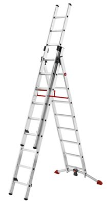 Hailo 670cm Profilot Aluminium Combination Ladder