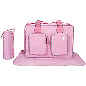 My Babiie Katie Piper Deluxe Changing Bag (Pink)