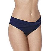 F&F Fold-Over Bikini Briefs - Navy
