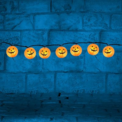 Halloween Pumpkin Lantern Lights - 2.3m