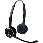 Jabra PRO 9460 Wireless DECT Stereo Headset - Over-the-head - Semi-open