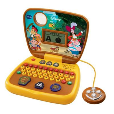 VTech Disney Jake and the Neverland Pirates Treasure Hunt Learning Laptop