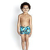 Speedo Infant Boy's Essential Allover Aquashort - Navy