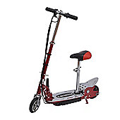 Homcom 120W Deluxe Kids Electric E Scooter Battery Ride on Toy Children Adjustable Seat Red
