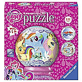 My Little Pony 'Friends' 3d 72 Piece Ball Jigsaw Puzzle Game