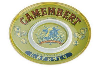 DRH Cows Head Camembert Baker Platter Plate 902150G+301CH