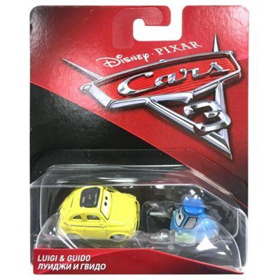 Disney Cars Luigi & Guido Vehicles