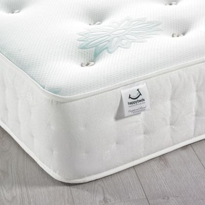 Happy Beds Anniversary Backcare 2000 Pocket Spring Orthopaedic Natural Fillings Mattress - 2ft6 Small Single