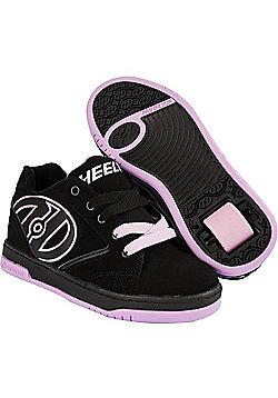 Heelys Propel 2.0 Black/Lilac Kids Heely Shoe - Black