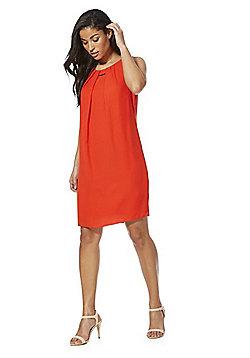 F&F Bar Trim Shift Summer Dress - Red