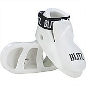 Blitz - Double Padded Dipped Foam Foot - White