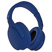 KitSound Slammers Wireless Headphones Blue