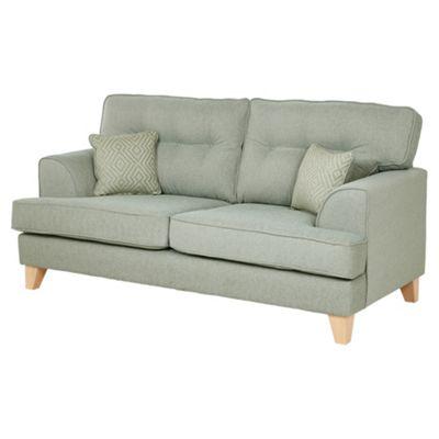 Bargello Medium 2.5 Seater Sofa, Duck Egg