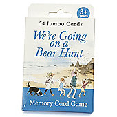 We're going on a Bear Hunt Memory Card Game