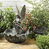 Fairy Leaf Solar Fountain Water Feature