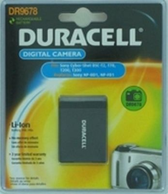 Duracell Digital Camera Battery 3.7v 650mAh 2.4Wh Lithium-Ion (Li-Ion)