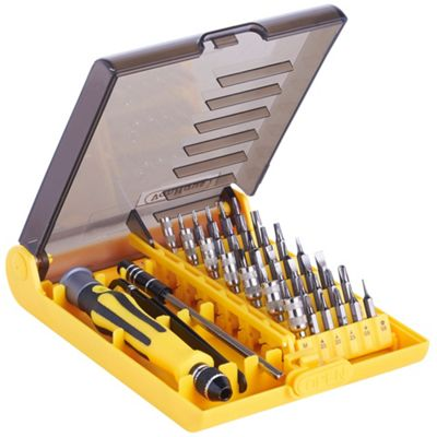 VonHaus 45-in-1 Precision Screwdriver Multi-Bit Set