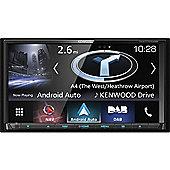 Kenwood 7'' 2DIN Car Stereo│DAB+│GPS-SatNav│Bluetooth│Android Auto-Apple CarPlay│DNX 7170DABS
