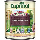 Cuprinol Garden Shades - Summer Damson - 1 Litre