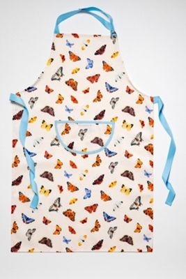 Roy Kirkham Butterfly Garden Cotton Apron