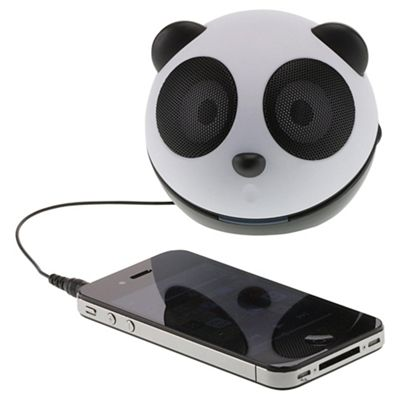 KitSound Mini Buddy Panda Speaker for iPod/iPad/iPhone & Android Devices