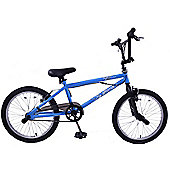 "Ammaco Freestyler 20"" Wheel BMX Bike 360 Gyro Blue"