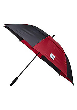 Mountain Warehouse GOLF UMBRELLA VERTICAL STRIPE - Red