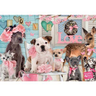 Studio Pets - True Love - 1000pc Puzzle
