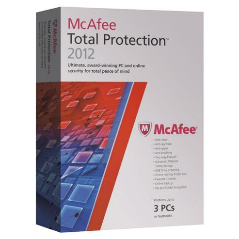 McAfee Total Protection 3 User 2012