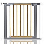 Safetots Beechwood and Metal Pressure Fit Gate 77.5 - 84.4cm