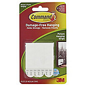 Command Medium Picture Hanging Strips, 4 pack