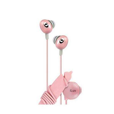iLuv Bean In-Ear Stereo Earphones with in-line Volume