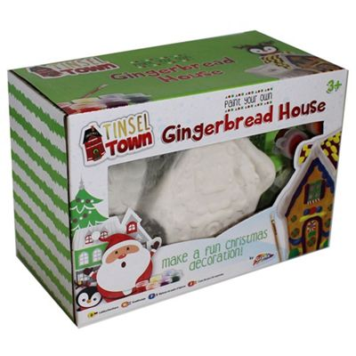 Grafix Paint Your Own Christmas Gingerbread House