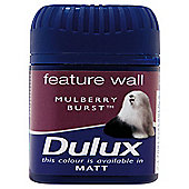 Dulux Feature Wall Tester Mulberry Burst 50Ml