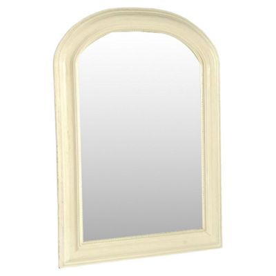 Papa Theo Arched Beaded Mirror