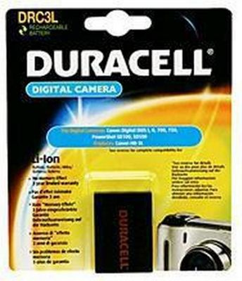 Duracell DRC3L Lithium-Ion (Li-Ion) 820mAh 3.7V rechargeable battery
