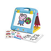 TRAVEL ART EASEL SET PEPPA