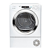 Candy Condenser Tumble Dryer GVS C10DCG - White with Chrome Door