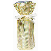 Holographic Gold Wine Bottle Bag