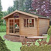 Abbeyford Log Cabin 12x12 by Finewood