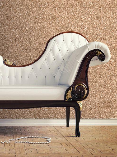 Textured Sparkle Wallpaper Copper 701374