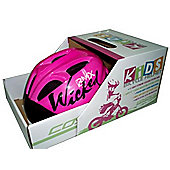 Coyote Kids Wicked Girls Bike Helmet Medium 52-55cm