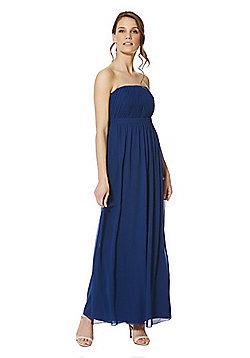 Vila Maxi Bridesmaid Dress - Blue