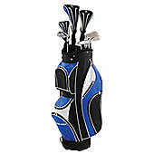 Golf package set with cart bag