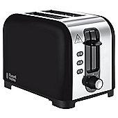 Russell Hobbs Maddison Black Toaster