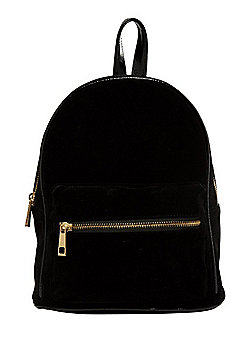 F&F Velvet Micro Backpack